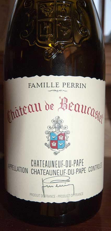 Château de Beaucastel ( Domaines Perrin ) 2013