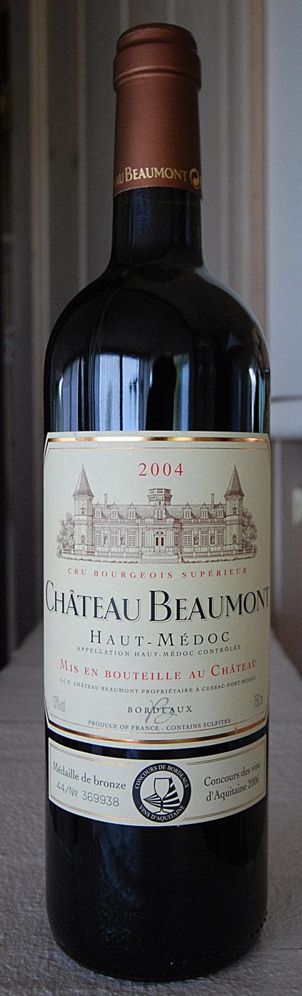 Château Beaumont ( Château Beaumont ) 2004