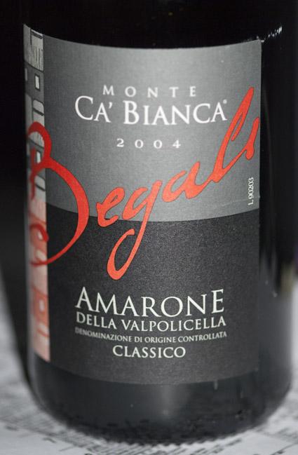 Amarone della Valpolicella Classico Monte cà Bianca ( Begali ) 2012
