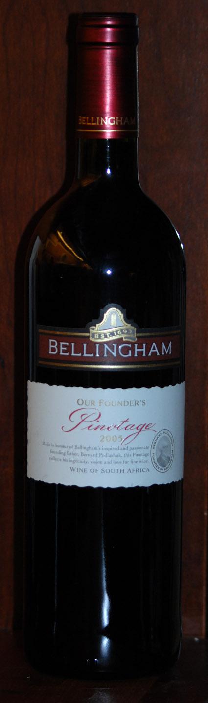 Pinotage ( Bellingham Wines ) 2005