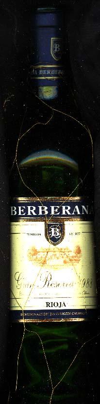 Gran Reserva ( Bodegas Berberana ) 1988