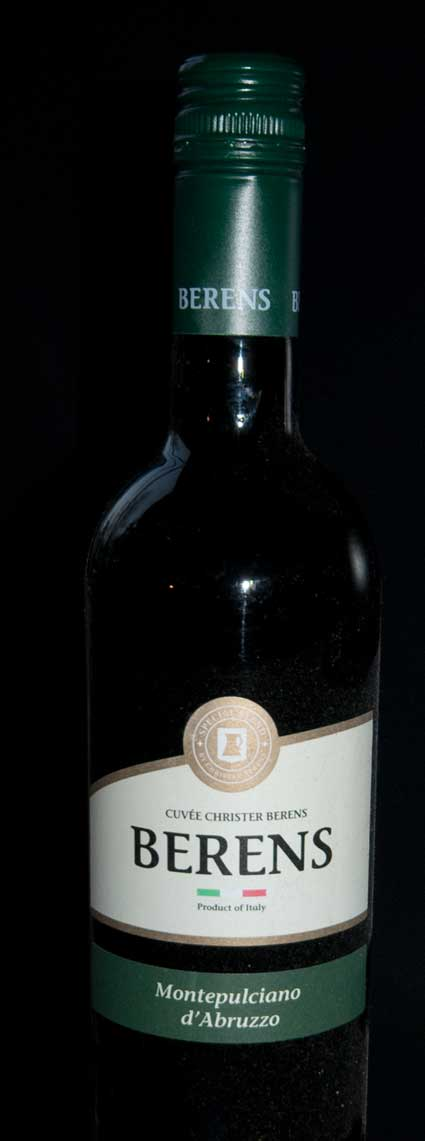 Montepulciano d`abruzzo Cuvée Christer Berens ( Farnese ) 2014