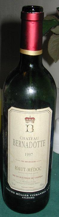 Château Bernadotte ( Château Bernadotte ) 2002
