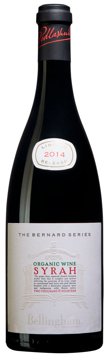 The Bernard Series Organic Syrah ( Bellingham Wines ) 2014