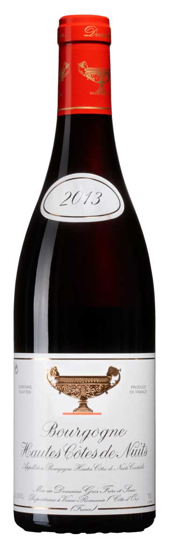 Bourgogne Hautes Côtes de Nuits ( Domaine Gros Frère et Soeur ) 2016