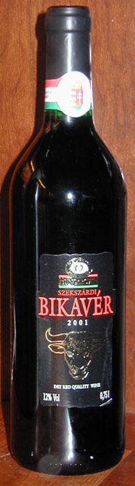 Szekszárdi Bikavér ( Zwack ) 2001