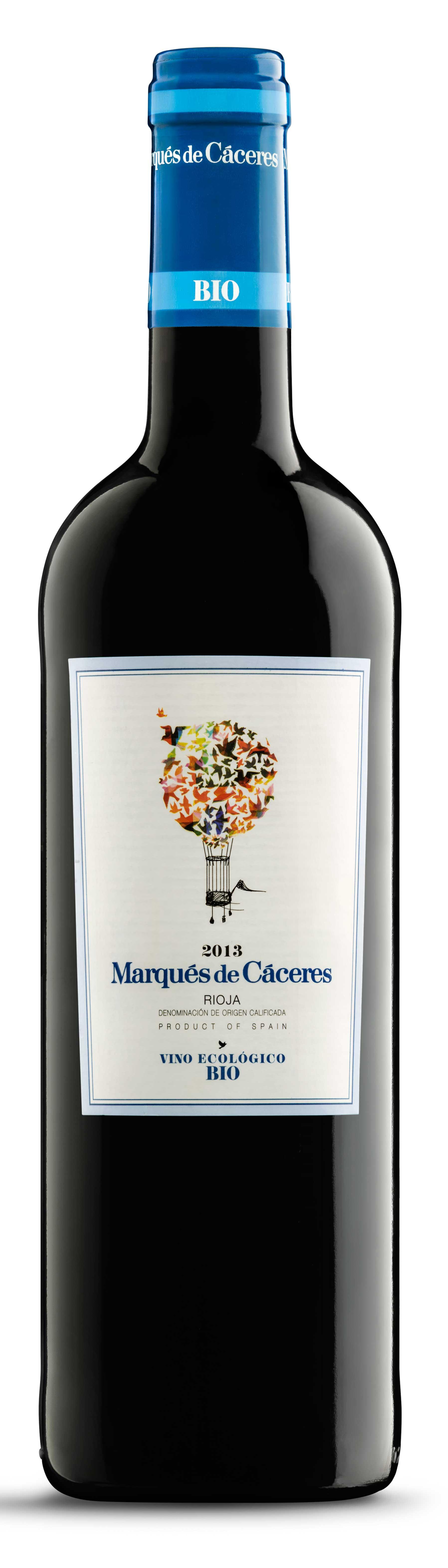 Vino Ecológico Bio ( Bodegas Marqués de Cáceres ) 2013