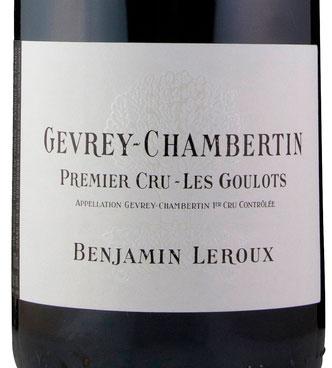 Gevrey-Chambertin 1er Cru Les Goulots ( Benjamin Leroux ) 2014