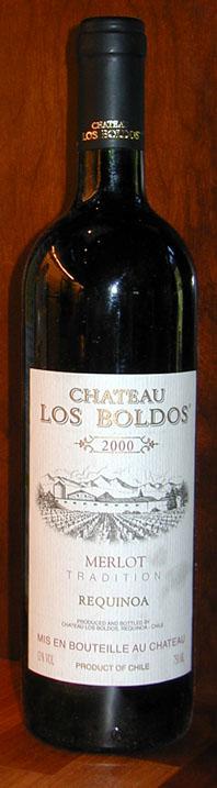 Merlot ( Chateau los Boldos ) 2000