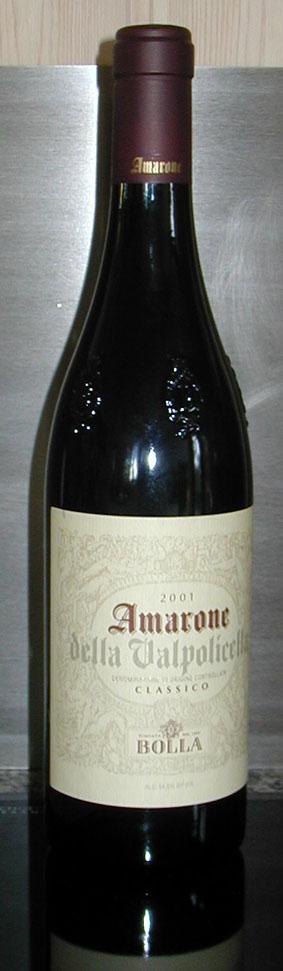 Amarone della Valpolicella Classico ( Bolla ) 2001