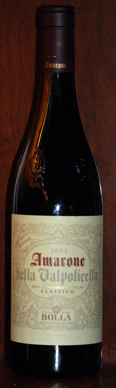 Amarone della Valpolicella Classico ( Bolla ) 2006