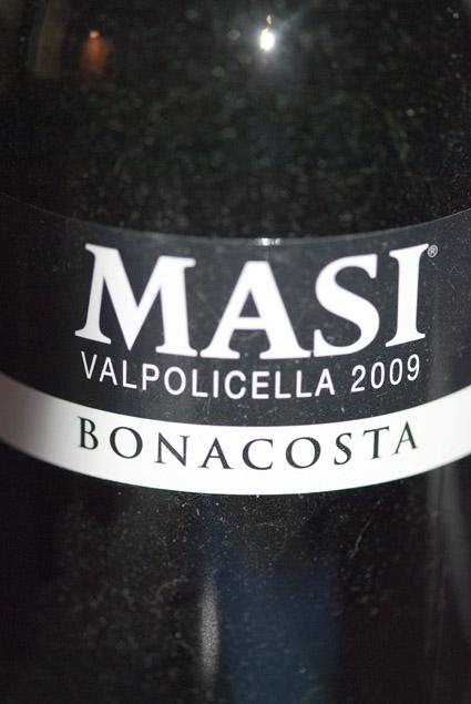 Valpolicella Classico Bonacosta ( Masi ) 2012