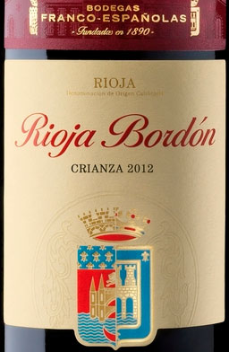 Rioja Bordón Crianza ( Bodegas Franco-Españolas ) 2004