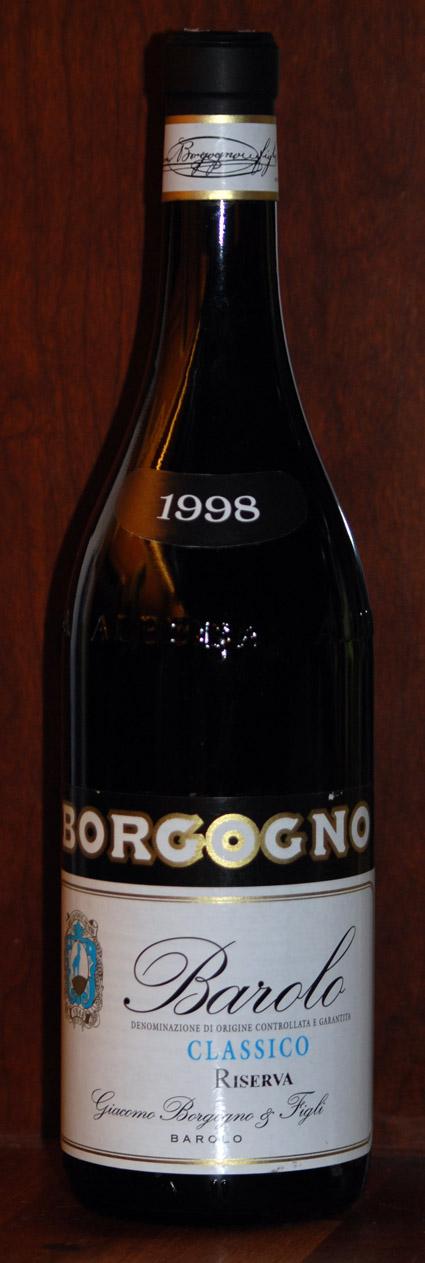 Barolo Classico Riserva ( Giacomo Borgogno ) 1998