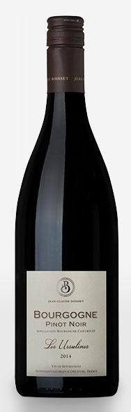 Bourgogne Pinot Noir Les Ursulines ( Jean-Claude Boisset ) 2017