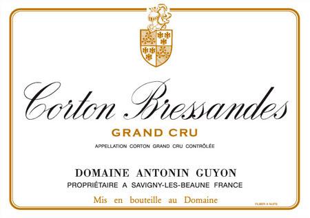 Corton Bressandes Grand Cru ( Domaine Antonin Guyon ) 2002