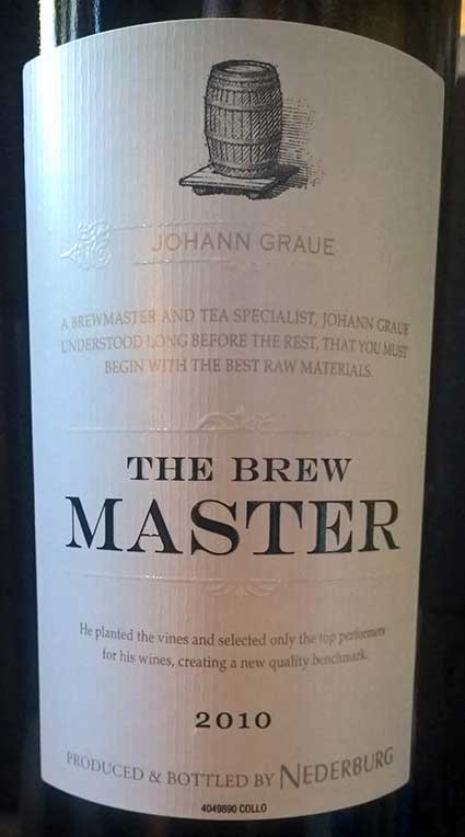 The Brew Master ( Nederburg ) 2014