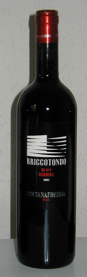 Barbera Briccotondo ( Fontanafredda ) 2005