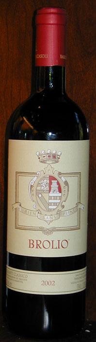 Chianti Classico Brolio ( Barone Ricasoli ) 2002