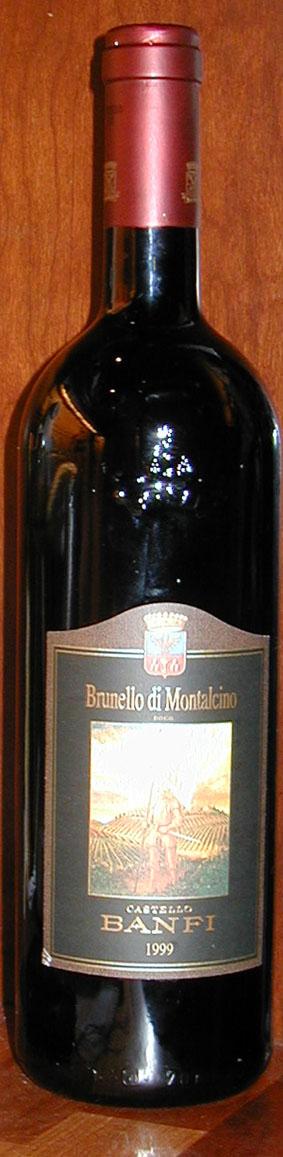 Brunello di Montalcino ( Banfi ) 1999