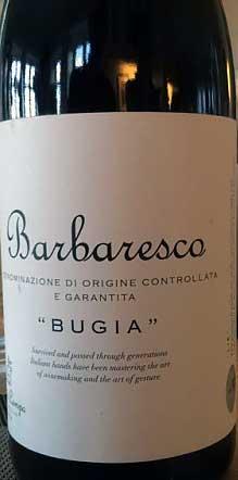 Barbaresco Bugia ( Pietro di Campo ) 2013
