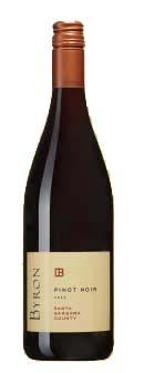 Santa Barbara Pinot Noir ( Byron Winery ) 2012