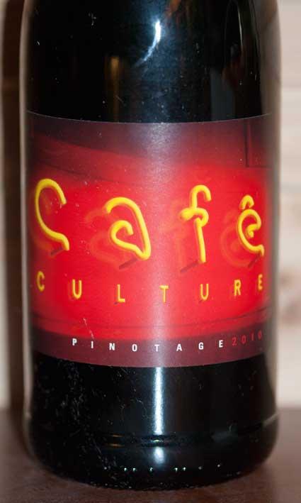 Café Culture Pinotage ( Kwv ) 2014
