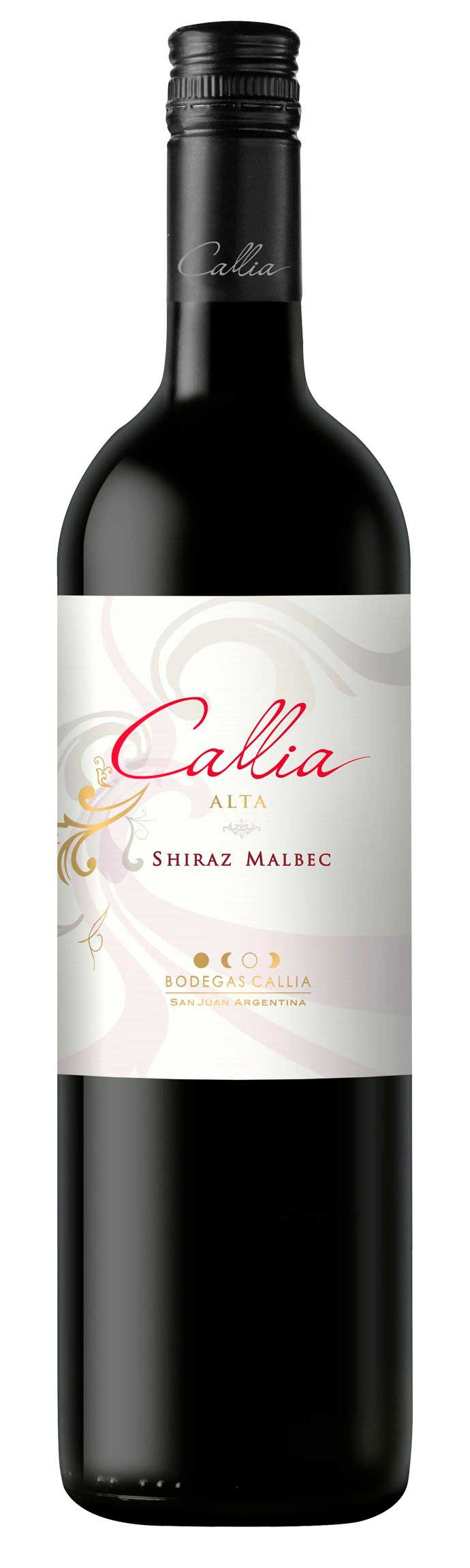 Alta Shiraz Malbec ( Bodegas Callia ) 2015