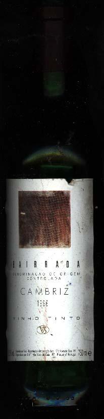 Cambriz Bairrada ( Sogrape Vinhos ) 1996