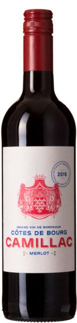 Camillac Bordeaux ( Cellier Vinicole du Blayais ) 2016