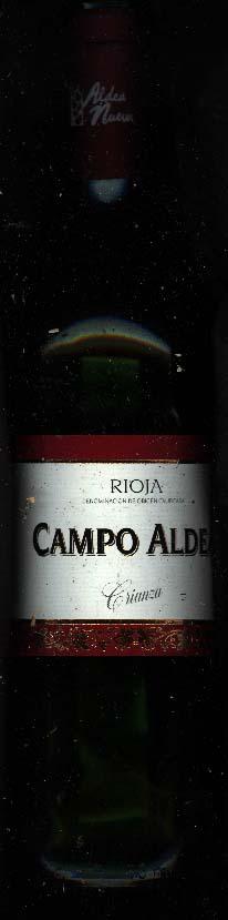 Campo Aldea Crianza 1995