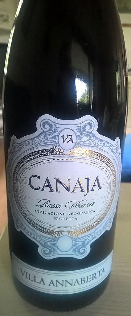 Canaja Rosso IGT ( Villa Annaberta ) 2012
