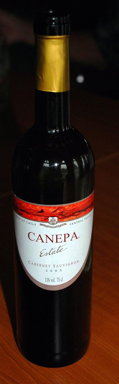 Cabernet Sauvignon ( Canepa ) 2005