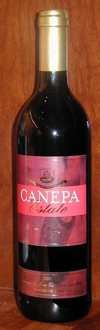 Cabernet Sauvignon ( Canepa ) 2002