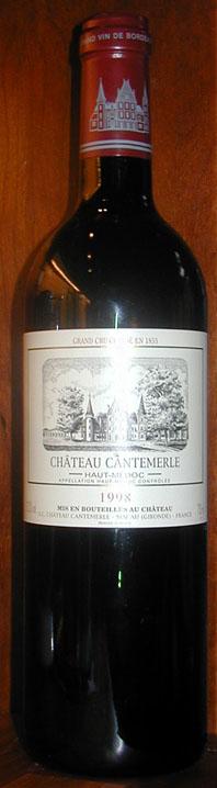 Château Cantemerle ( Château Cantemerle ) 2002