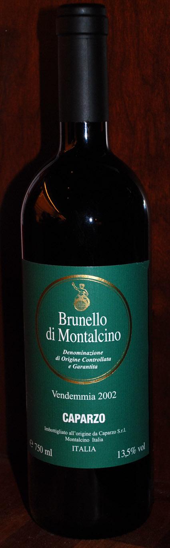 Brunello di Montalcino ( Caparzo ) 2012