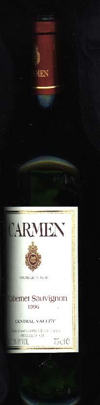 Cabernet Sauvignon ( Carmen ) 1996