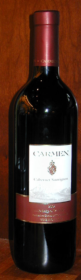 Cabernet Sauvignon ( Carmen ) 2004
