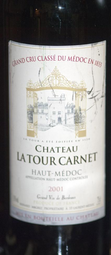 Chateau la Tour Carnet ( Bernard Magrez ) 2011