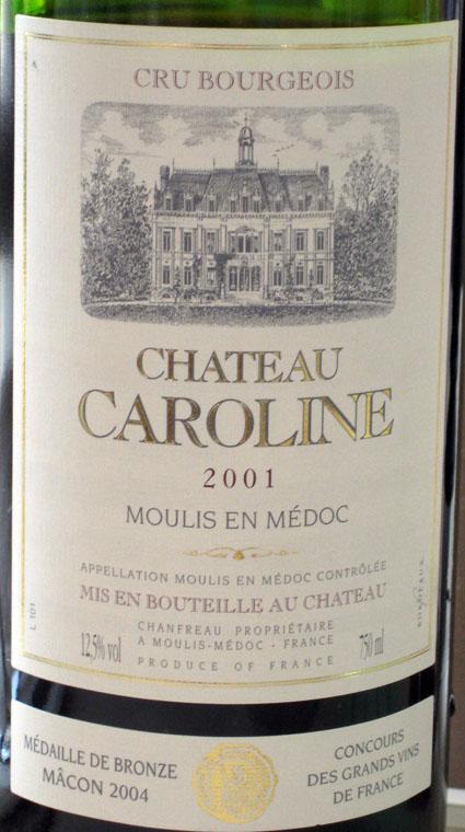 Château Caroline ( Château Caroline ) 2001