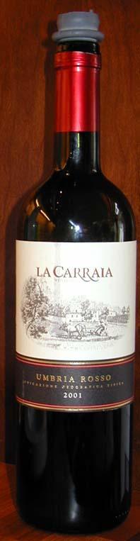 Sangiovese ( La Carraia ) 2001