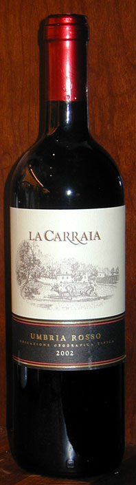 Sangiovese ( La Carraia ) 2002