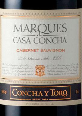 Marques de Casa Concha Cabernet Sauvignon ( Concha y Toro ) 2014