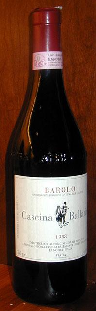Barolo ( Cascina Ballarin ) 1998