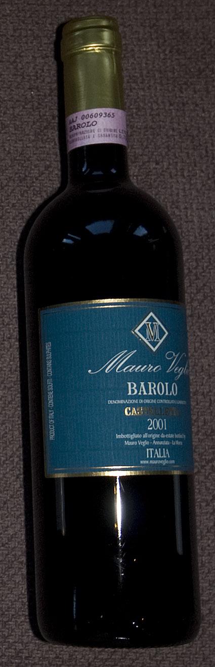 Barolo Castelletto ( Mauro Veglio ) 2013
