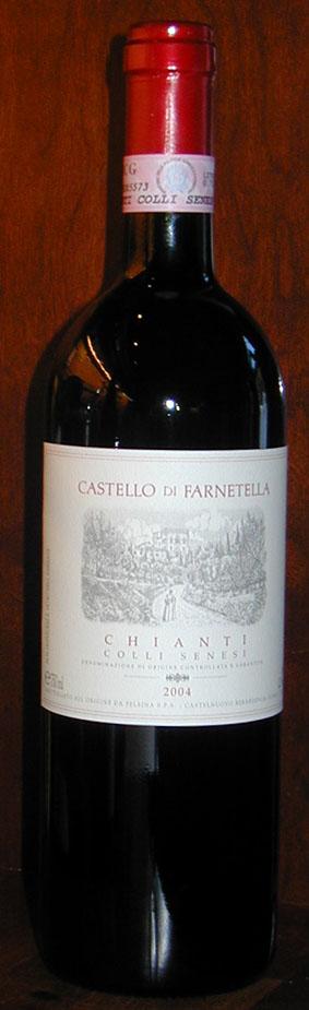 Chianti Colli Senesi Castello di Farnetella ( Fattoria di Felsina ) 2005