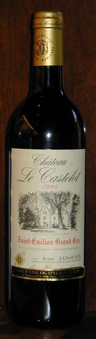 Chateau Le Castelot ( Joseph Janoueix vineyards ) 2016