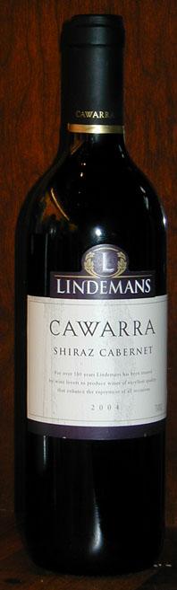 Cawarra Shiraz Cabernet ( Lindemans ) 2006