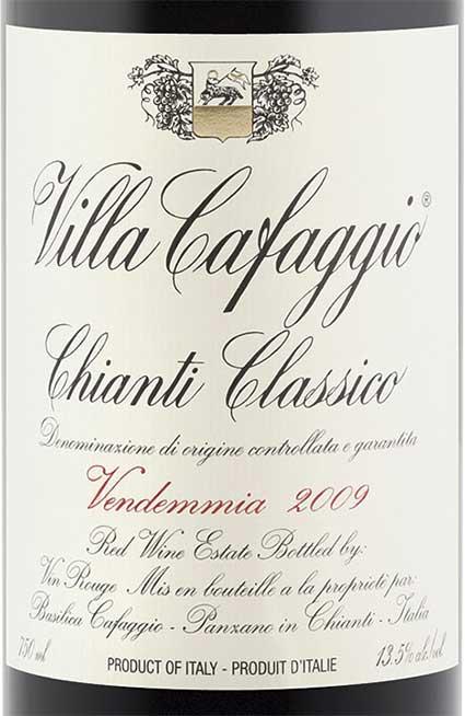 Chianti Classico ( Villa Cafaggio ) 2002