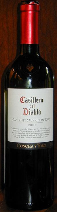 Casillero del Diablo Cabernet Sauvignon ( Concha y Toro ) 2008